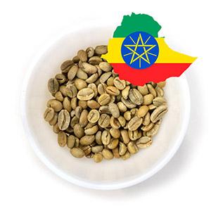 Зелёный кофе оптом из Эфиопии